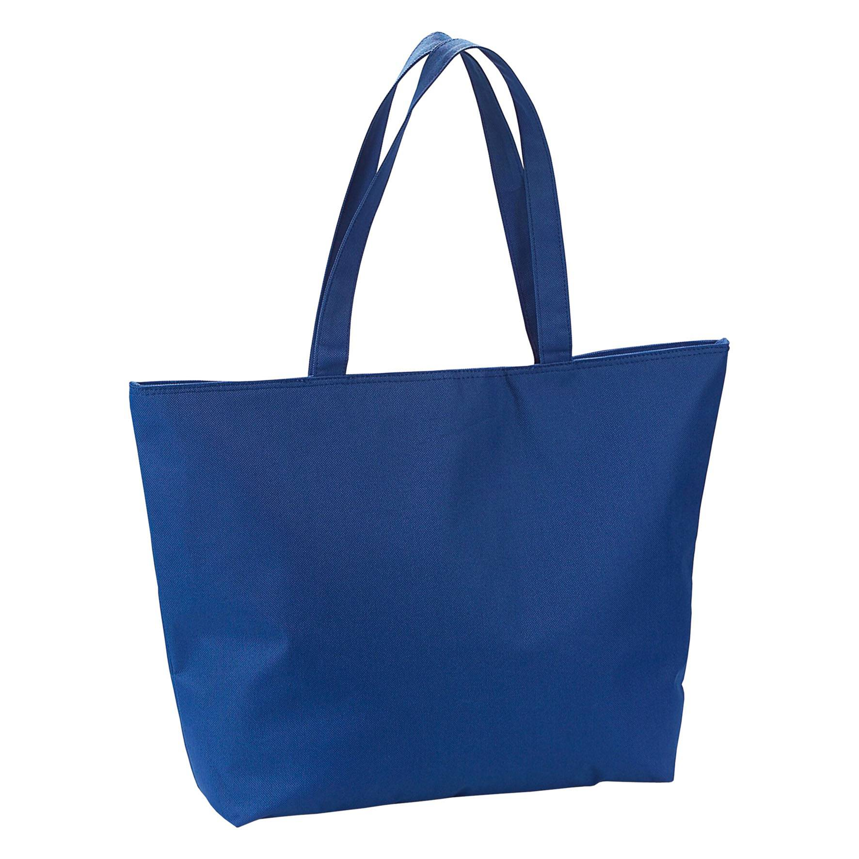 Cadeau publicitaire - Sac publicitaire isotherme Icebag- bleu