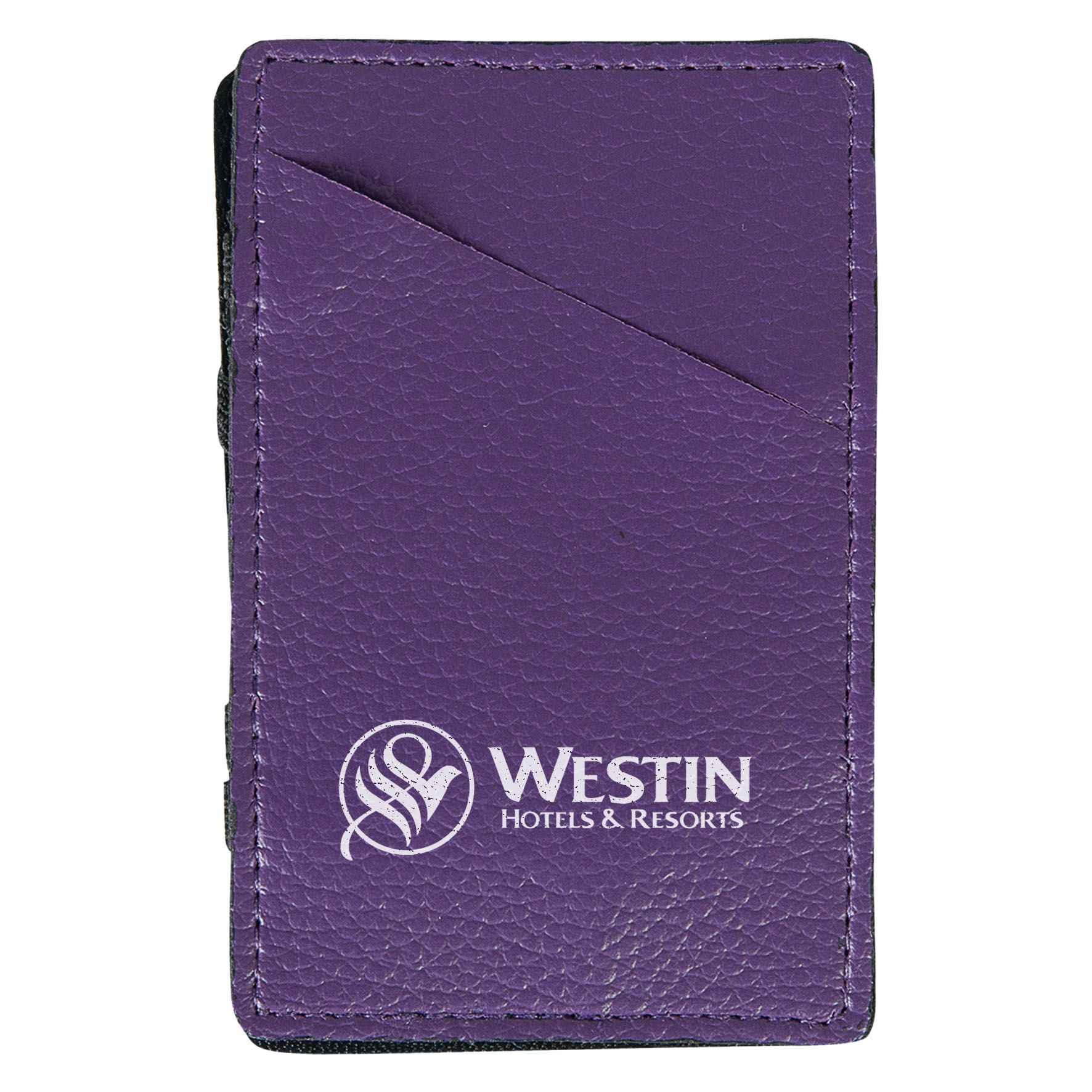 Goodies - Porte-cartes publicitaire Magic - violet