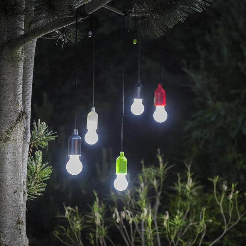 Lampe personnalisable Helper coloris argent