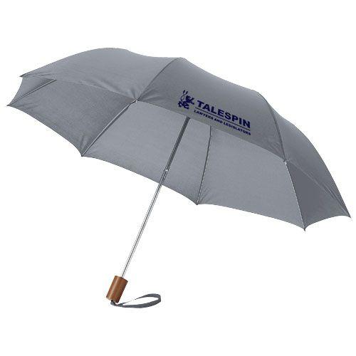 Parapluie publicitaire vert