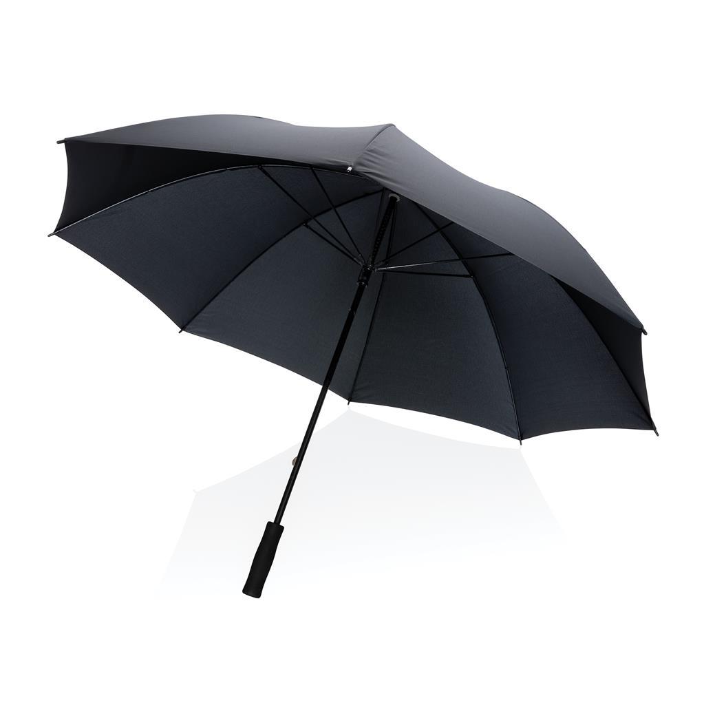 parapluie publicitaire tempête droit en rPET Impact Aware™ 1