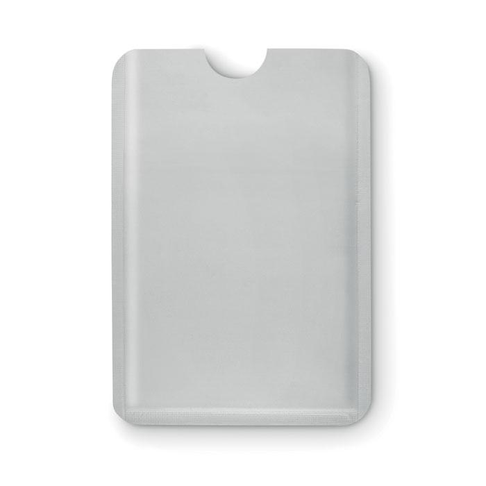 Porte-cartes publicitaire RFID Guardian - argent