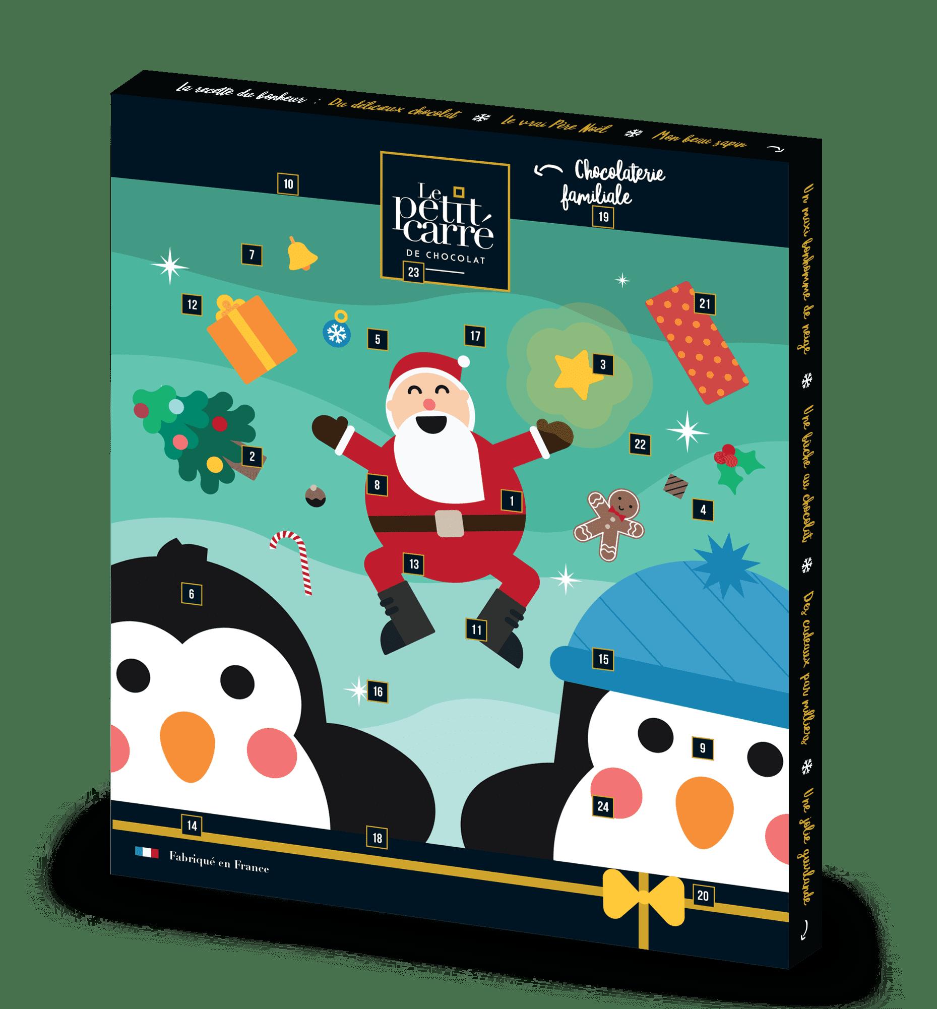Cadeau d'entreprise pour Noël - Calendrier de l'Avent Thème