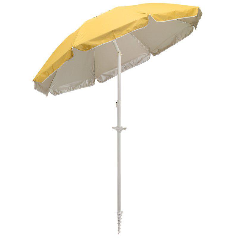 Parasol personnalisé inclinable Beachclub - parasol personnalisé