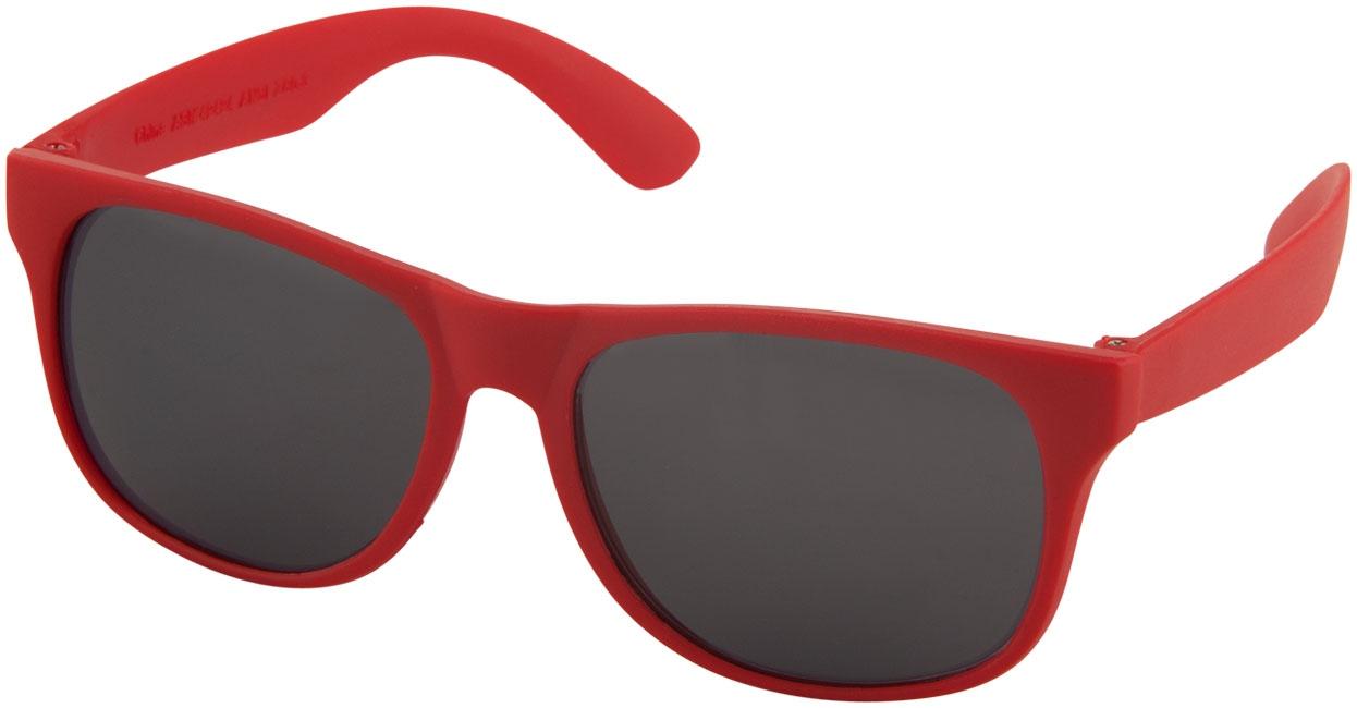 Goodies pour l'été - Lunettes de soleil publicitaires rétro - solid - bleu