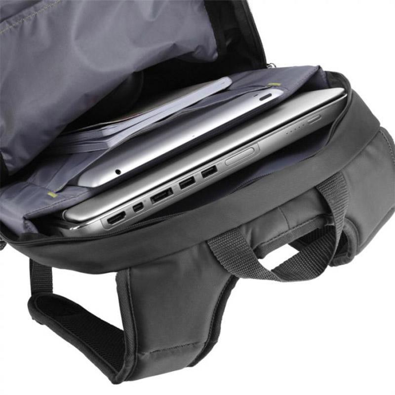 """Sac à dos ordinateur publicitaire  15,6"""" Jaunt - sac à dos publicitaire noir"""