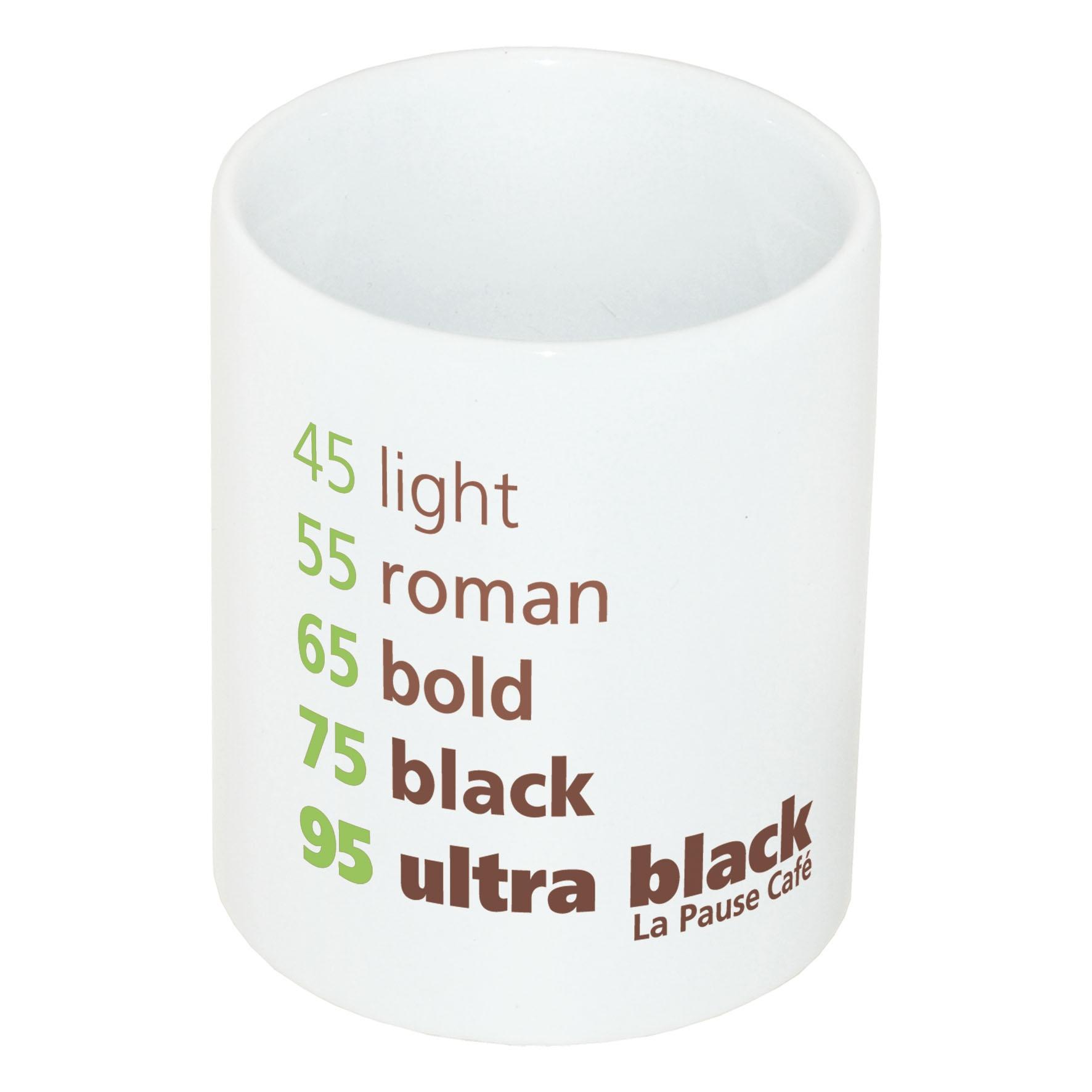 Mug publicitaire 31cl Céram Blanc - Objet publicitaire