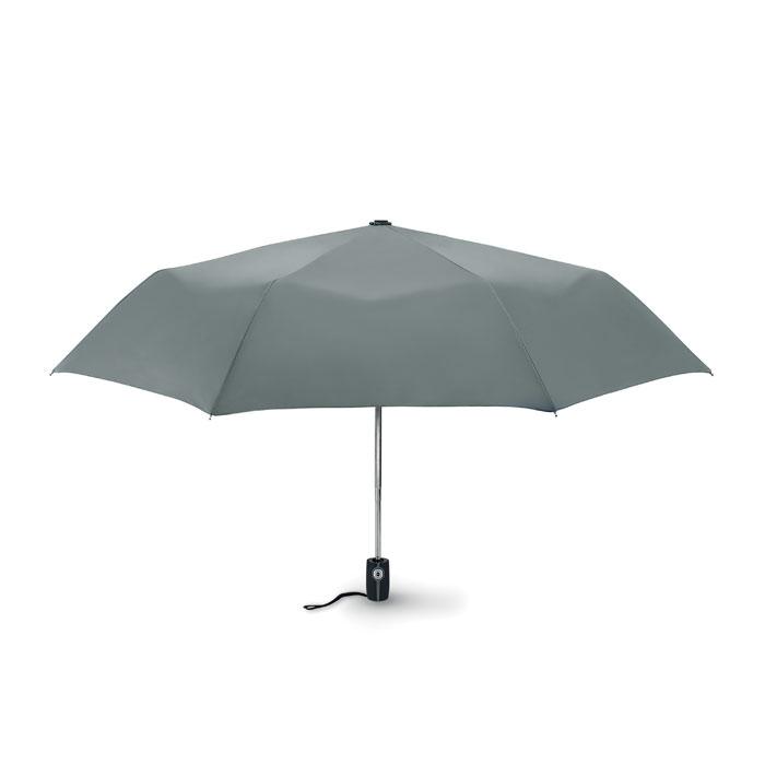 Parapluie publicitaire tempête Gentlemen - parapluie personnalisable rouge