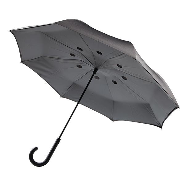 objet publicitaire - parapluie personnalisable réversible Swag