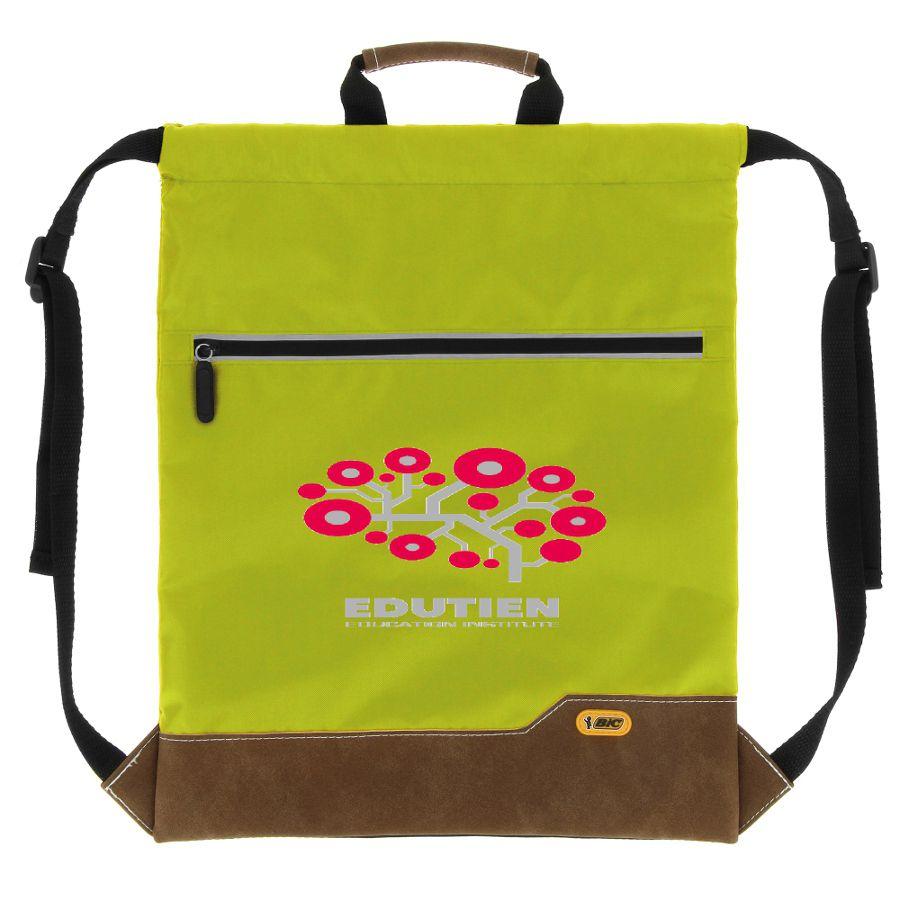 Sac à dos promotionnel Bic® Drawstring Backpack SP bleu - cadeau publicitaire