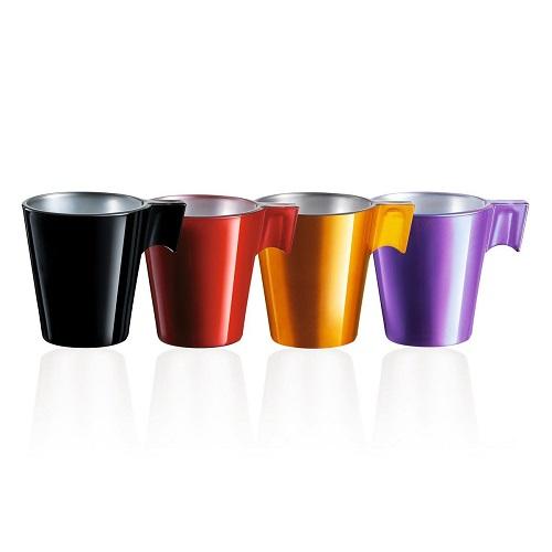 Tasses à expresso en verre Jumbo à personnaliser