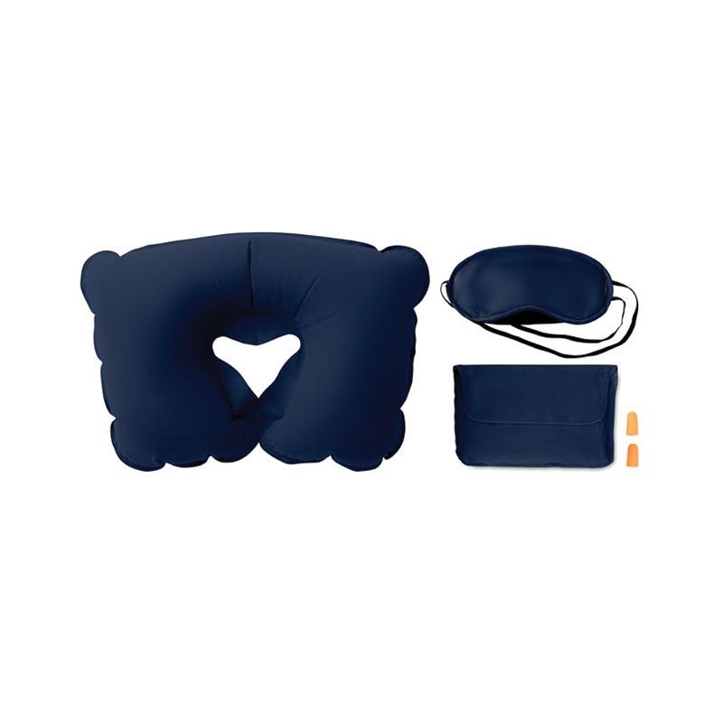 Cadeau promotionnel - Set oreiller, masque, bouchons