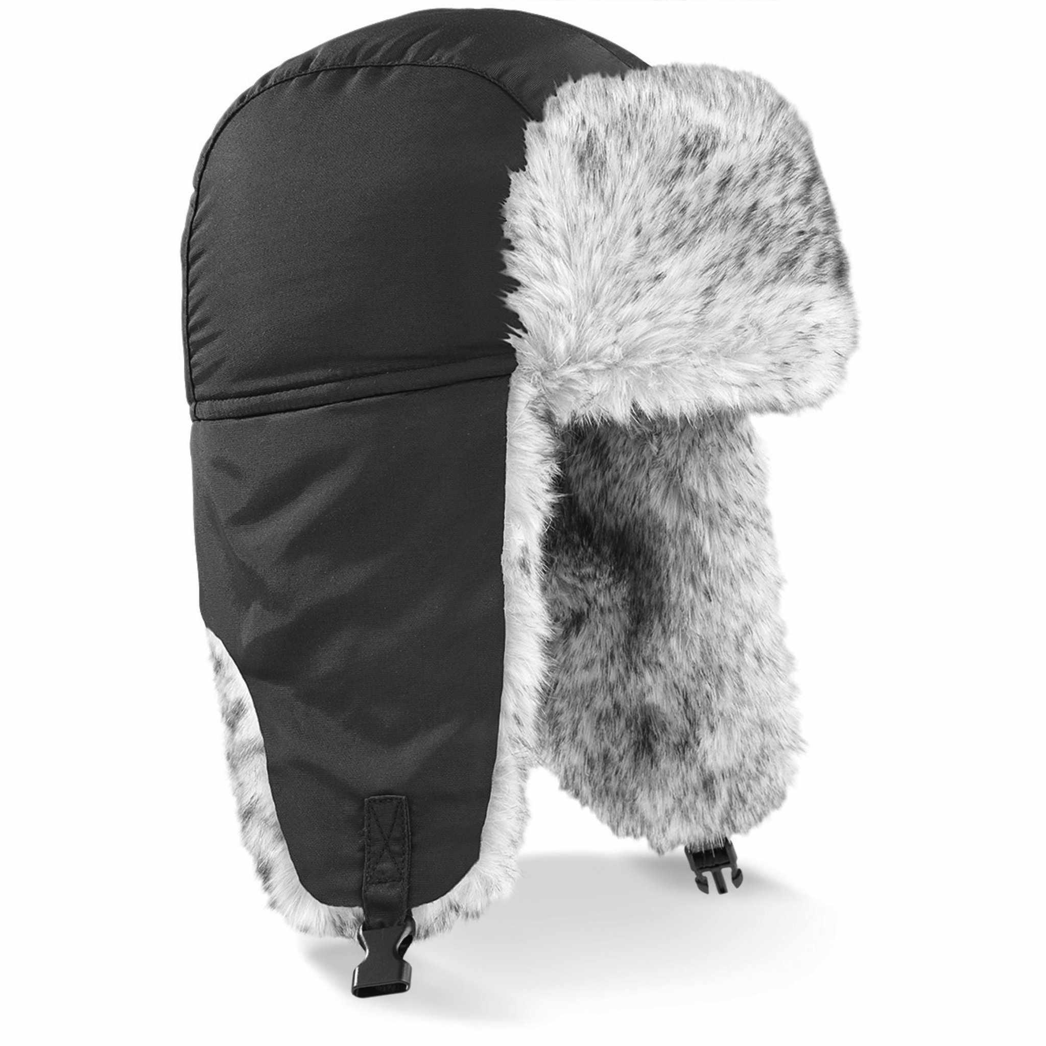 Bonnet publicitaire Sherpa - bonnet personnalisable noir