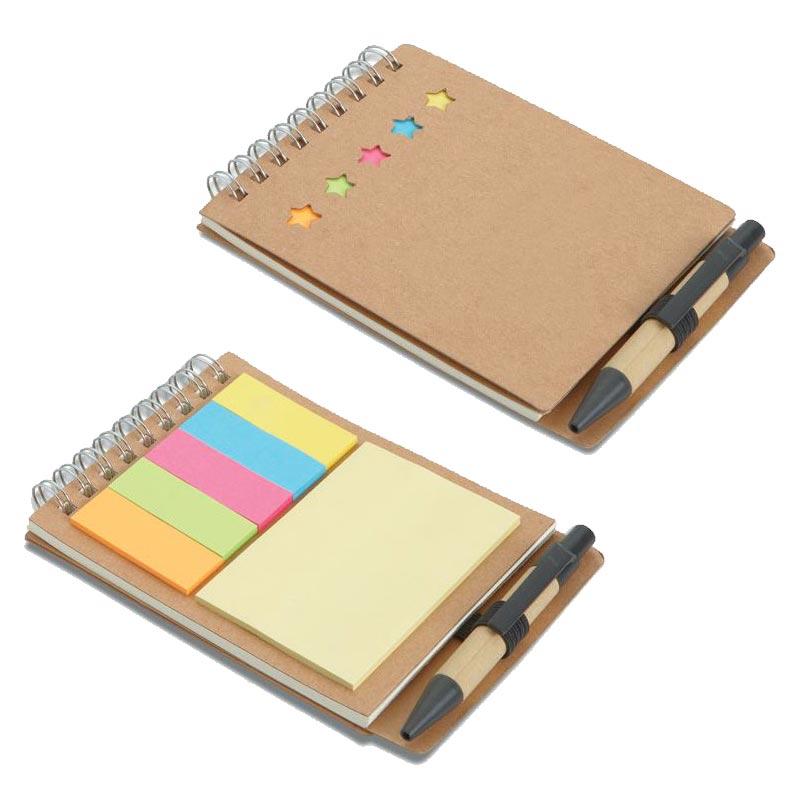 Carnet avec stylo et feuillets Multibook