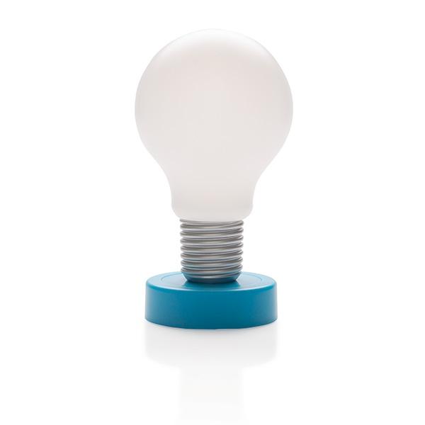 Lampe LED  publicitaire à poussoir Take - cadeau publicitaire