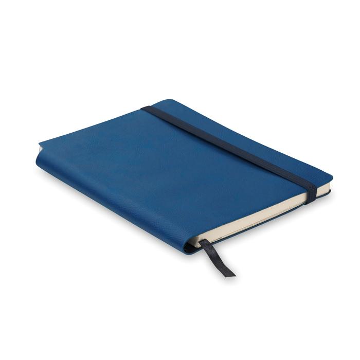 Carnet publicitaire A5 Softnote - Carnet personnalisé - bleu