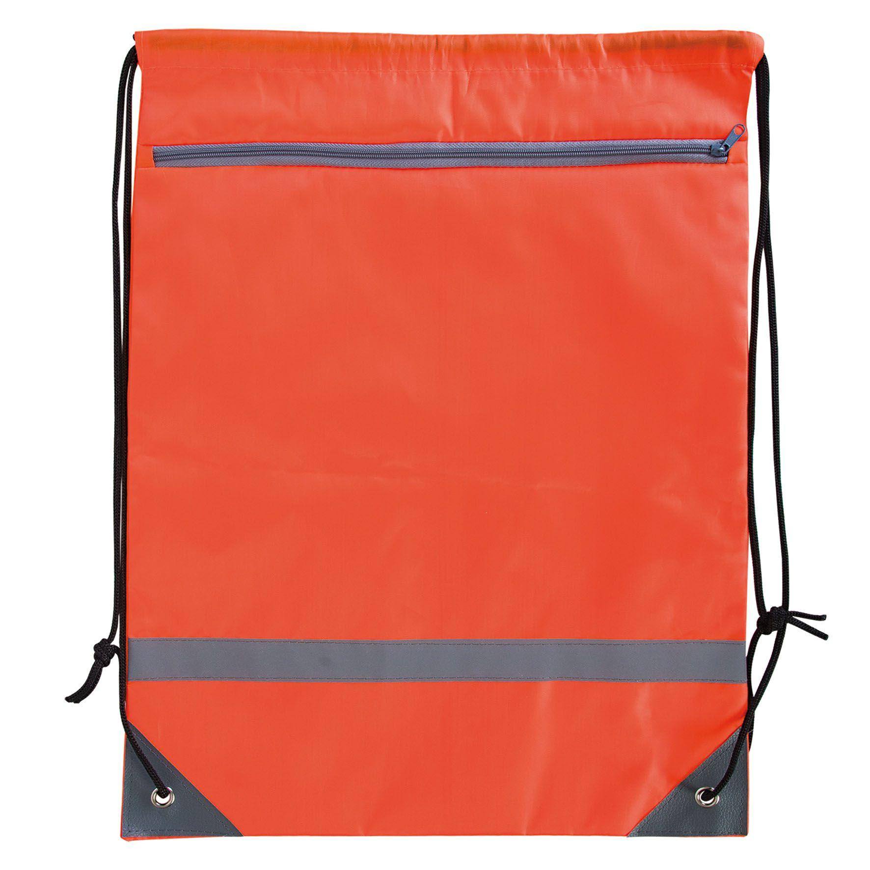 Sac à dos ficelle publicitaire avec zip - sac à dos personnalisable