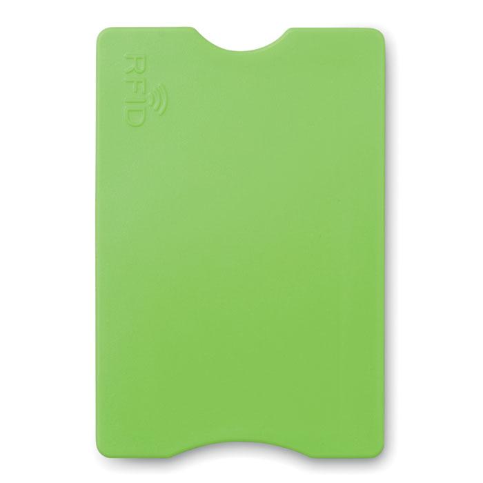 Porte-carte de crédit publicitaire Protector blanc - Goodies entreprise