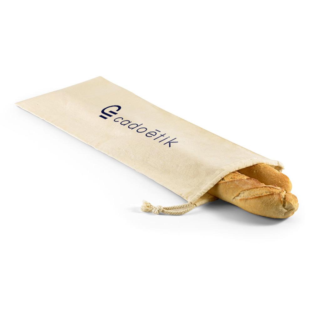 Sac à pain publicitaire en coton Bread