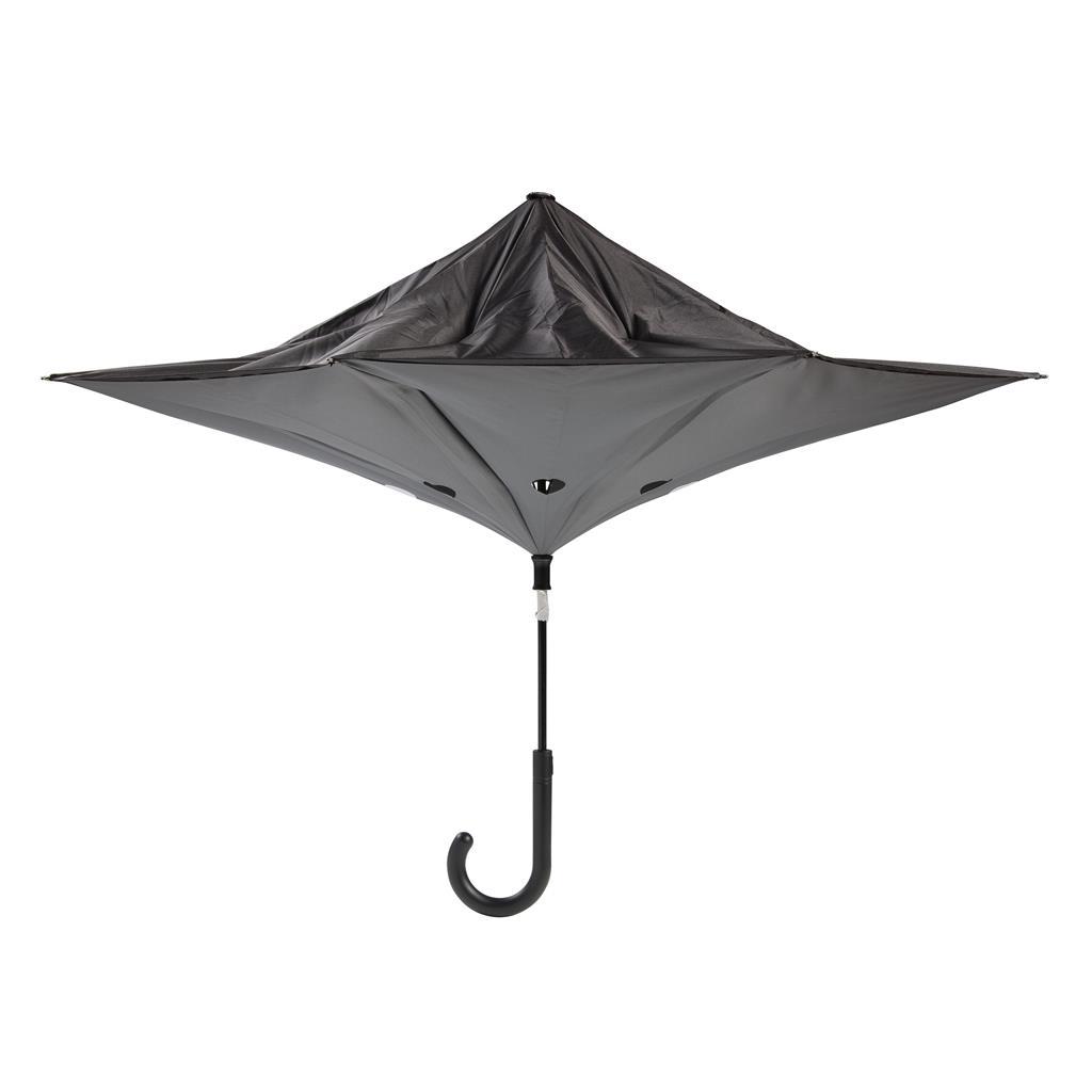 Parapluie publicitaire réversible Swag - cadeau d'entreprise