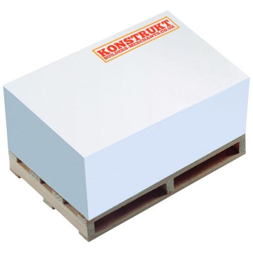 Goodies - Bloc mémo personnalisable Pallet Block-Mate® 2B