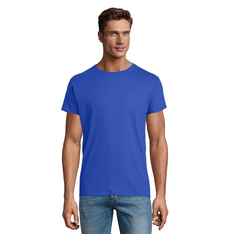 t-shirt publicitaire en coton Epic bleu