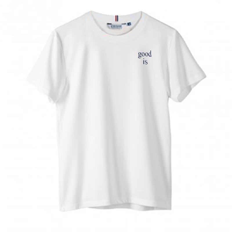 T-shirt publicitaire en coton blanc Alphonse