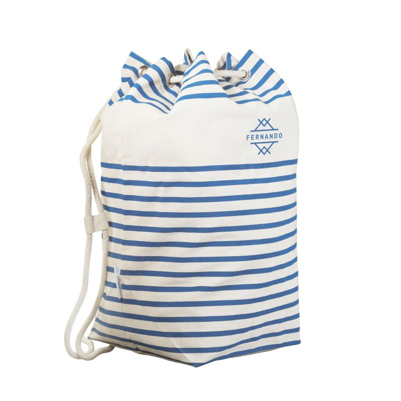 Sac marin promotionnel Deauville chocolat - sac marin publicitaire