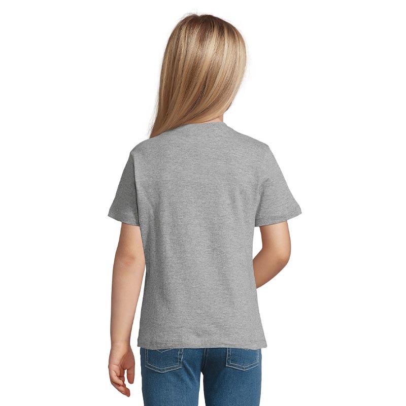 tee-shirt publicitaire pour enfant Regent gris