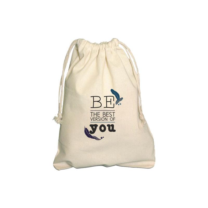 Pochette en coton publicitaire AGRA - sac coton personnalisé