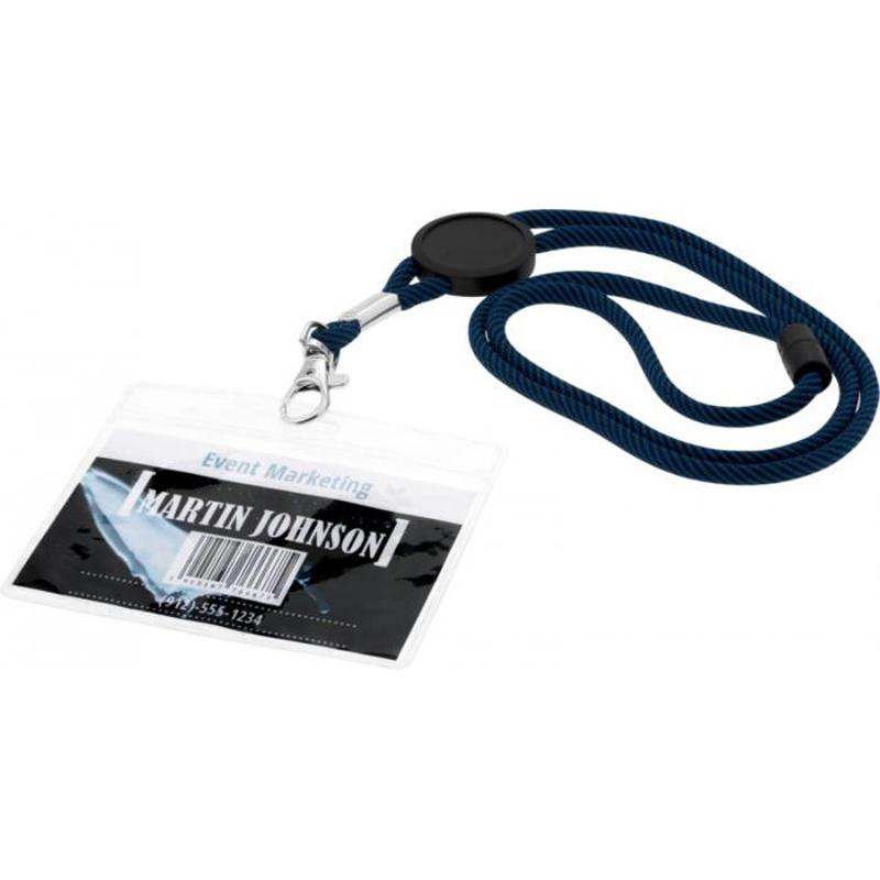 objet publicitaire événementiel - Porte-badge publicitaire Translucide