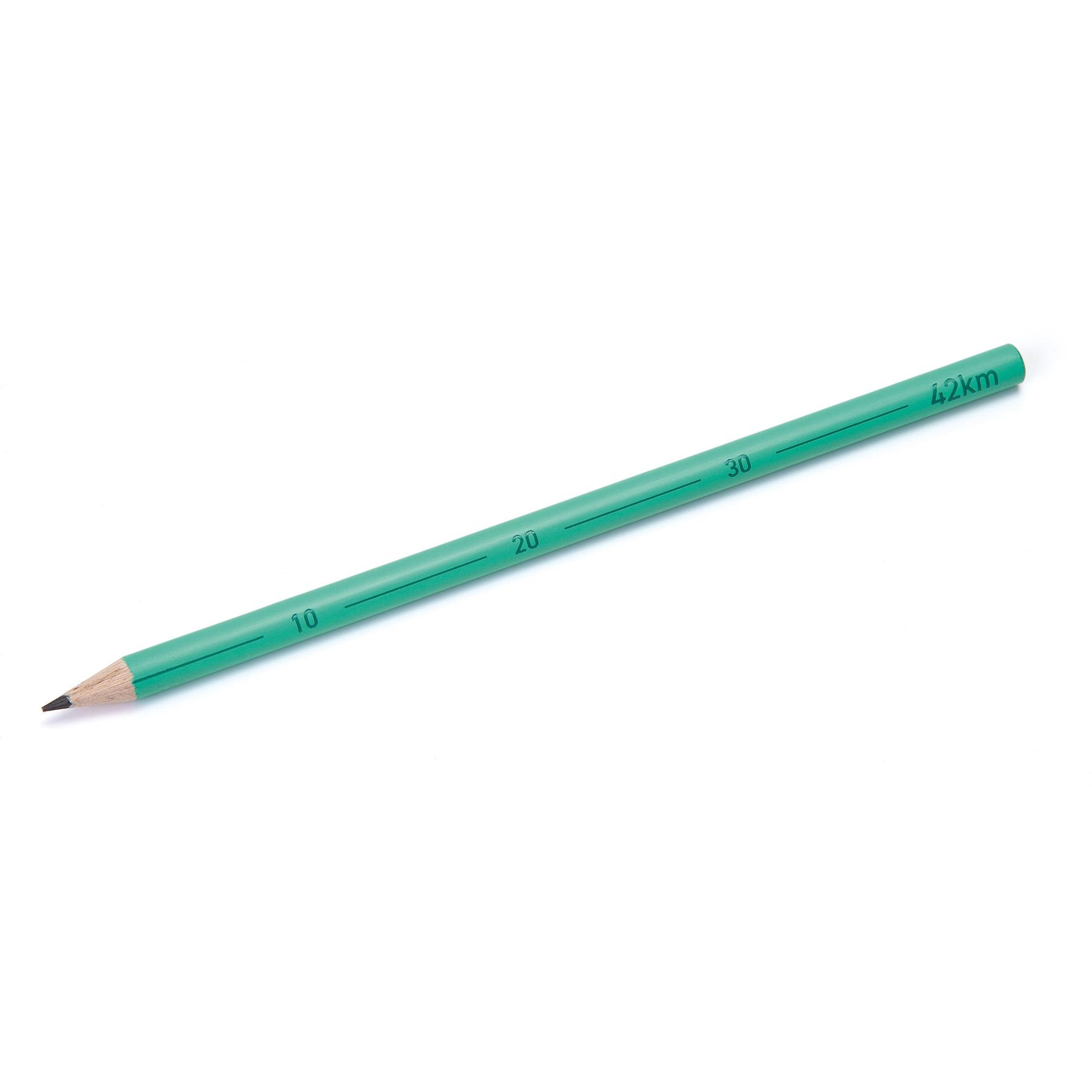 crayon bois certifié à personnalisé - crayon papier publicitaire 42 km pastillé