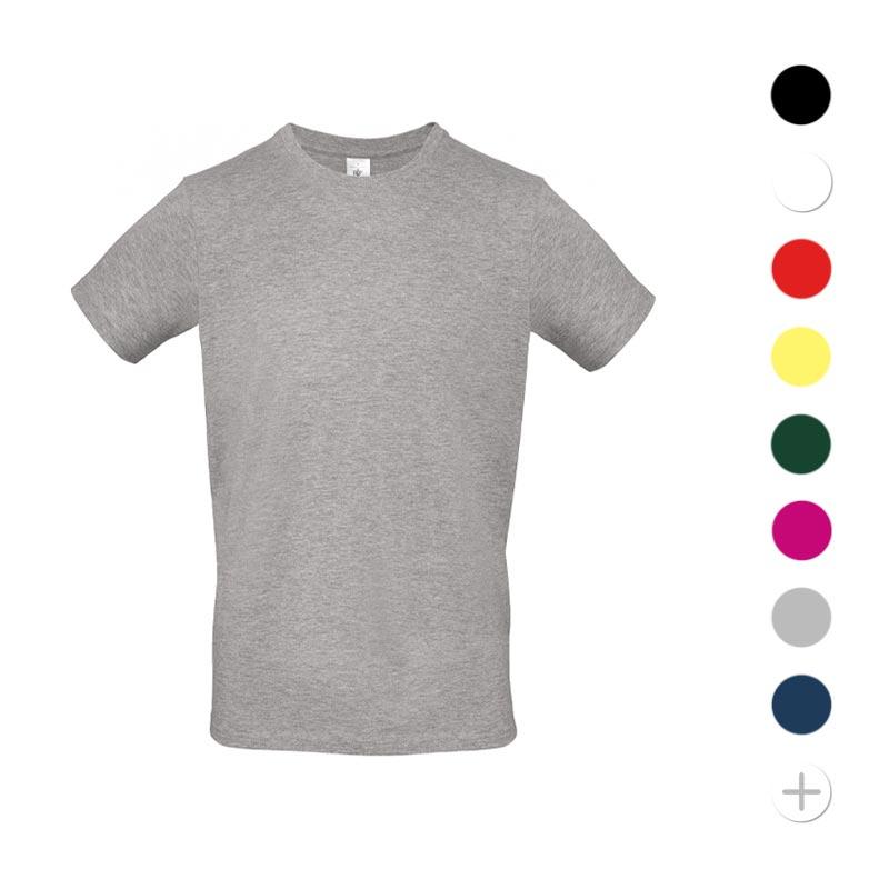 Tee-shirt publicitaire avec couleurs