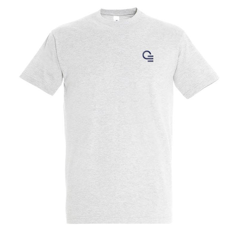 T-shirt publicitaire homme en coton Imperial - Coloris blanc