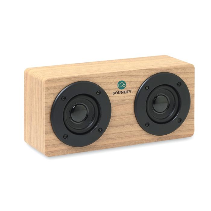 Haut-parleur personnalisé Bluetooth 2x3W Sonictwo - Cadeau publicitaire