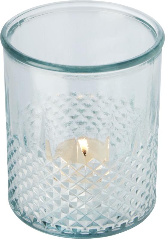 Bougeoir publicitaire en verre recyclé Estrel 3