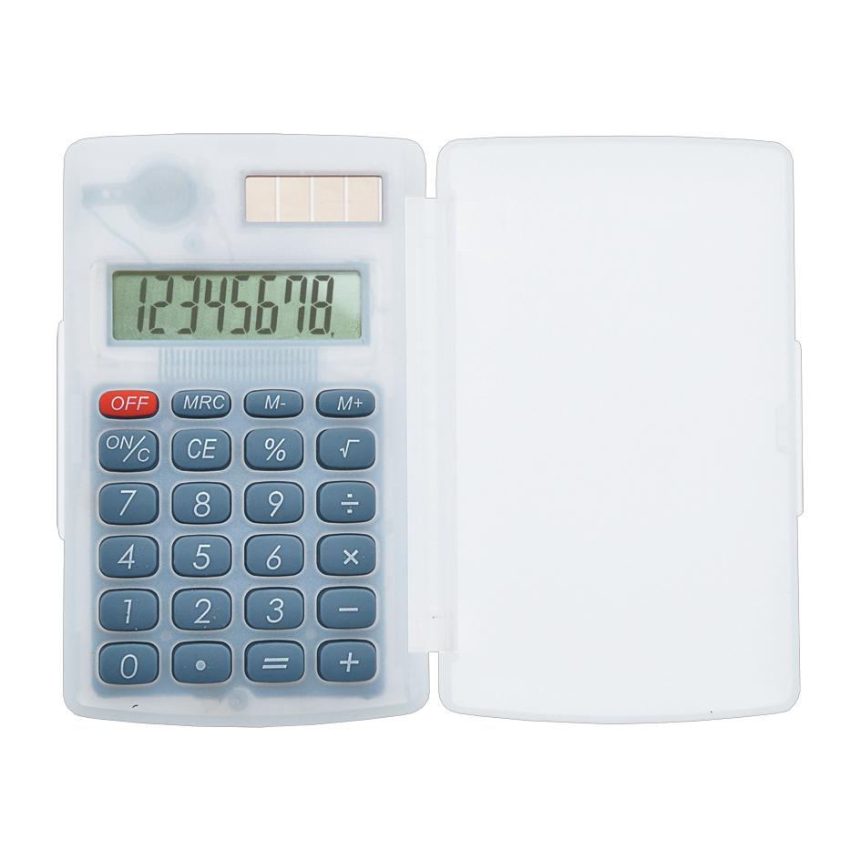 Calculatrice publicitaire écologique Intello - objet publicitaire