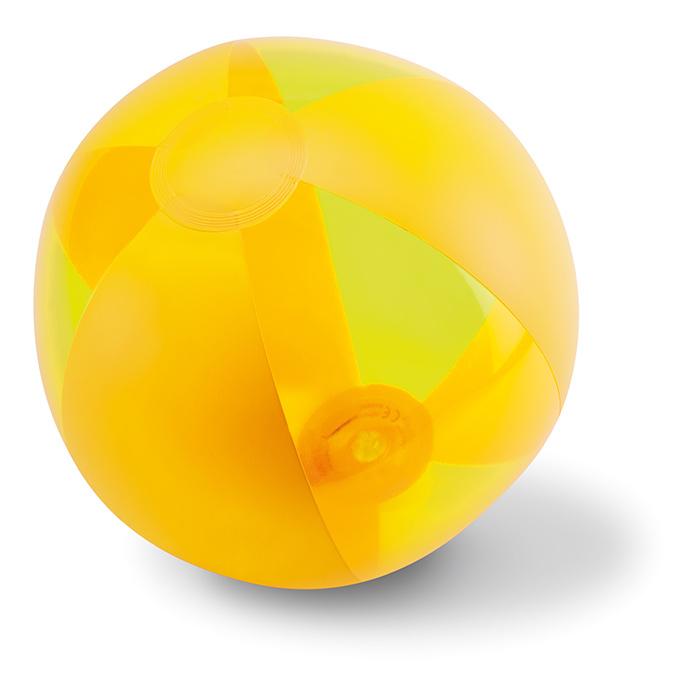Ballon de plage publicitaire Aquatime blanc - Cadeau d'entreprise