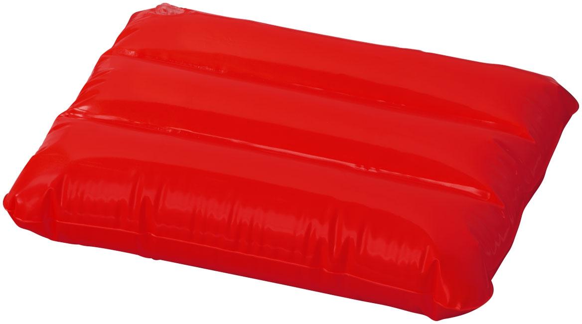 Objet publicitaire pour l'été - Oreiller gonflable Wave - rouge