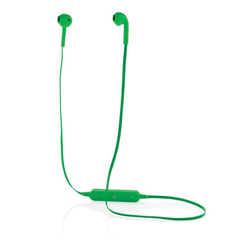 écouteurs personnalisables sans fil Simply - vert