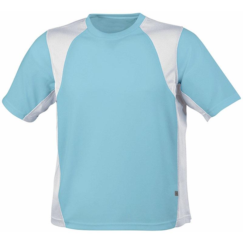 Tee-shirt publicitaire running homme Lucas - Objet publicitaire textile - blanc