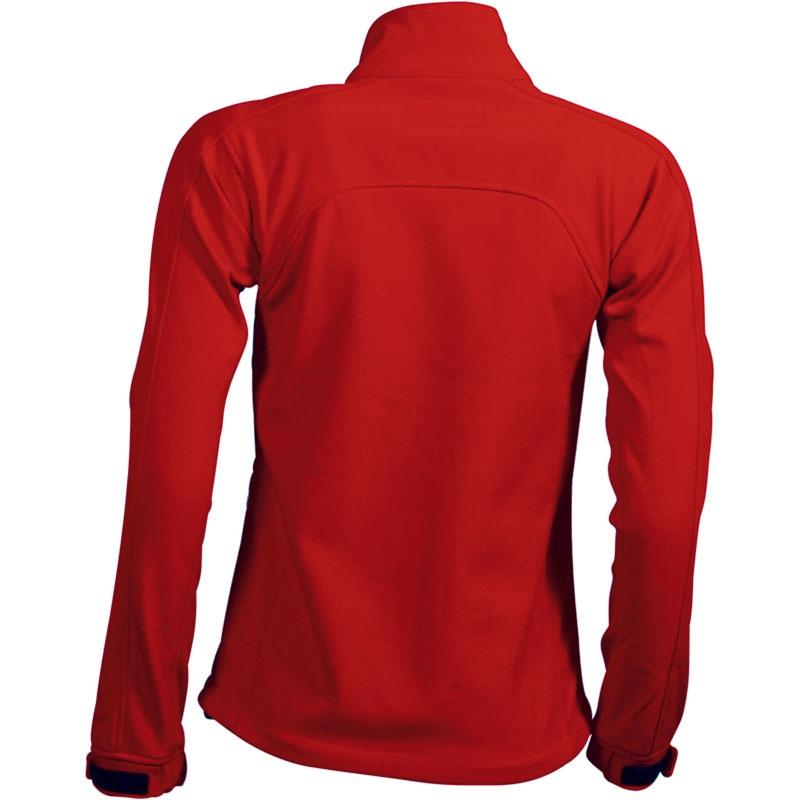 Veste publicitaire pour femme Icart rouge - veste personnalisable