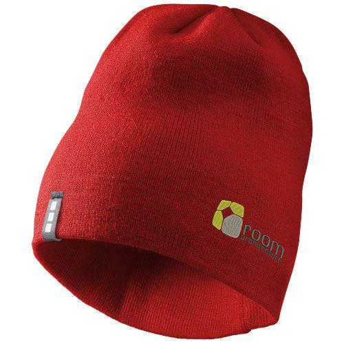 Cadeau publicitaire hiver - Bonnet personnalisable Level