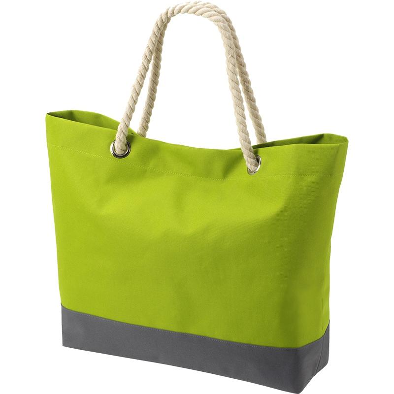 Sac shopping publicitaire Bonny - Sac personnalisé - vert