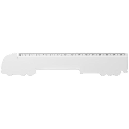 Goodies entreprise - Règle en plastique personnalisable Loki 30 cm Kamion