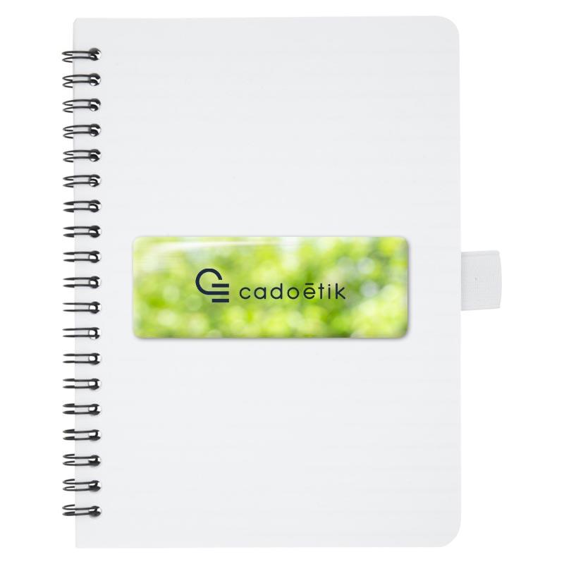 carnet de notes publicitaire Naima - goodies antibactérien