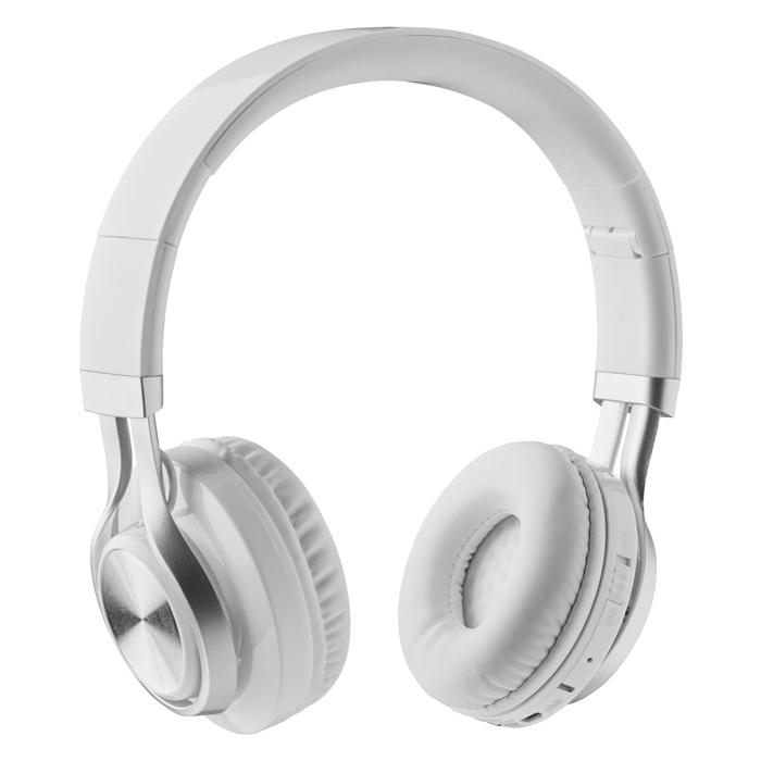 Casque audio Bluetooth® personnalisé New Orleans - blanc