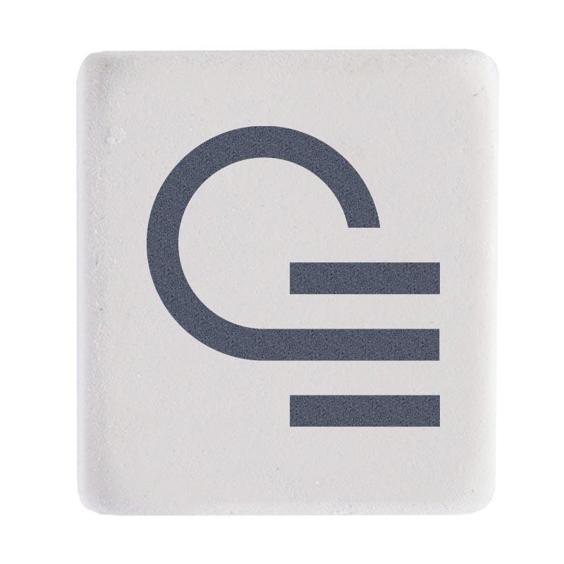 Gomme carrée Cool - Accessoire de bureau publicitaire