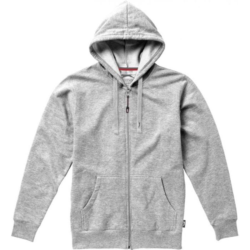 Sweater capuche full zip Open