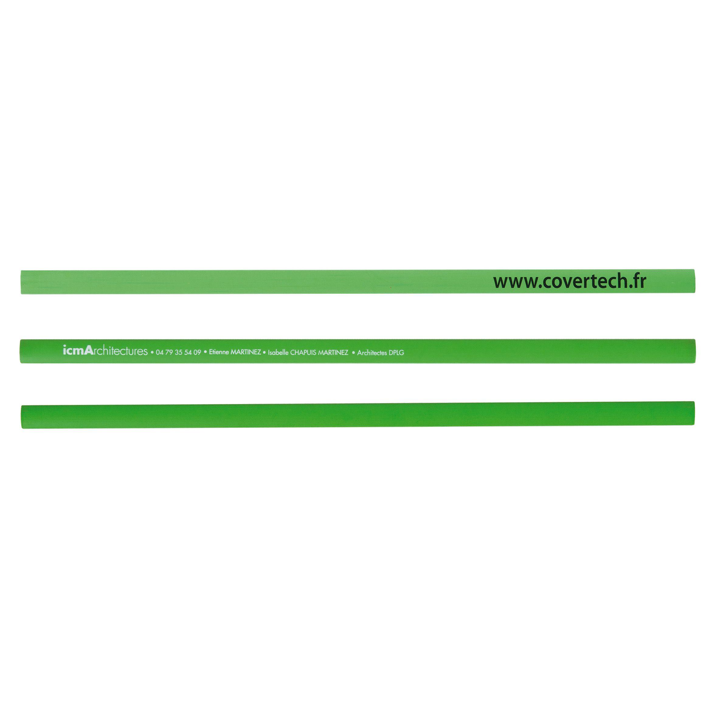Crayon publicitaire Charpentier Eco Pantone - Goodies écologique